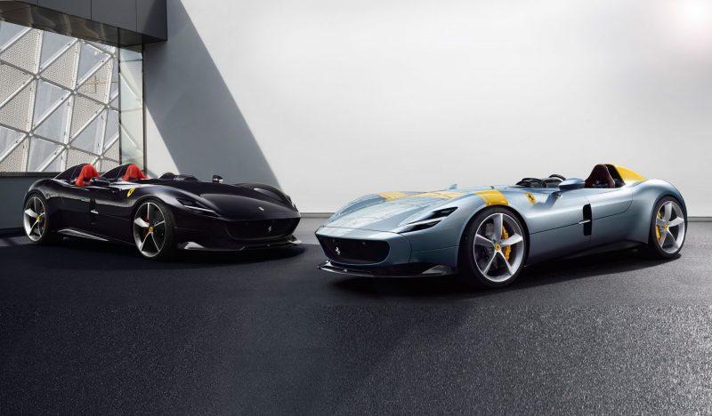 2020 Ferrari Monza SP1 and SP2