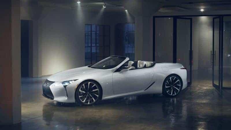 2020 Lexus LC convertible
