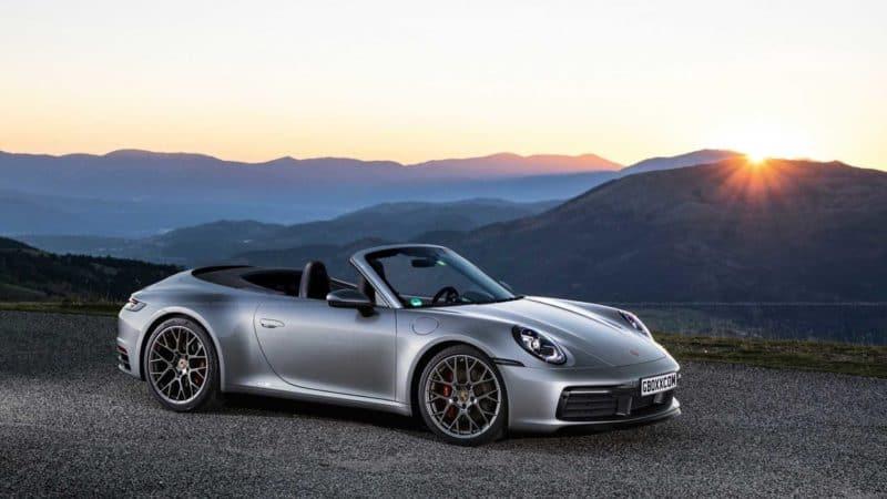 2020 Porsche 911 convertible
