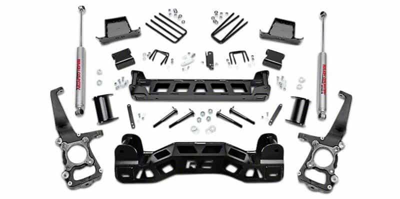 suspension lift kit components
