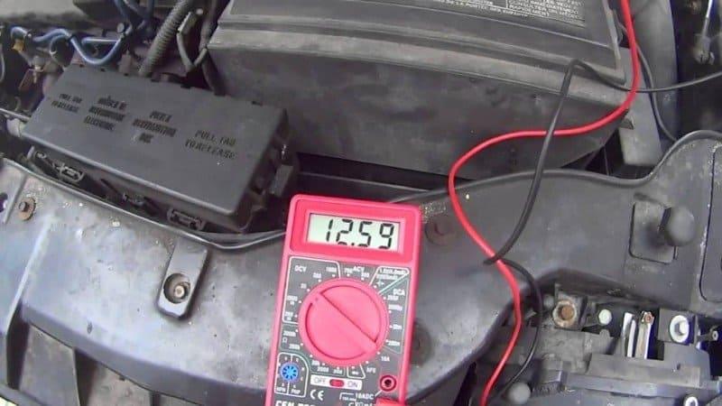 testing starter motor