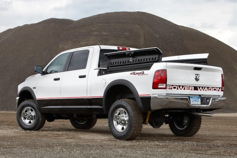 2012 Dodge Power Wagon - left rear view