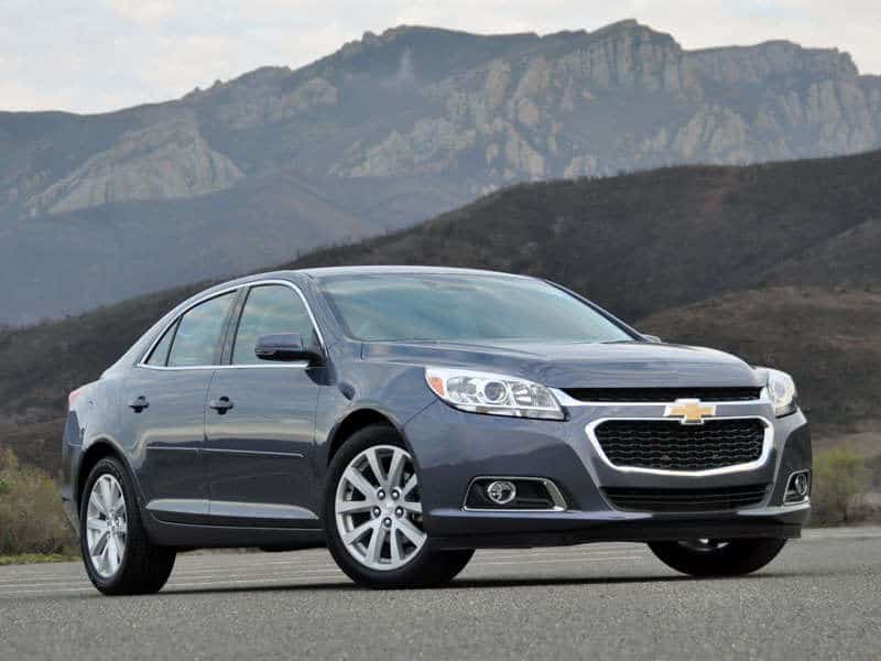 2014 Chevrolet Malibu - right front view