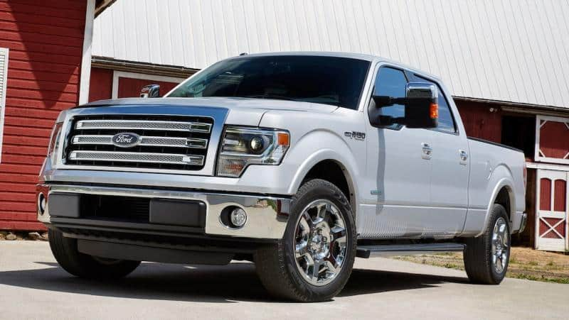2014 Ford F-150 - left front view
