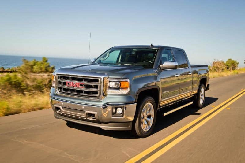 2014 GMC Sierra - left front view