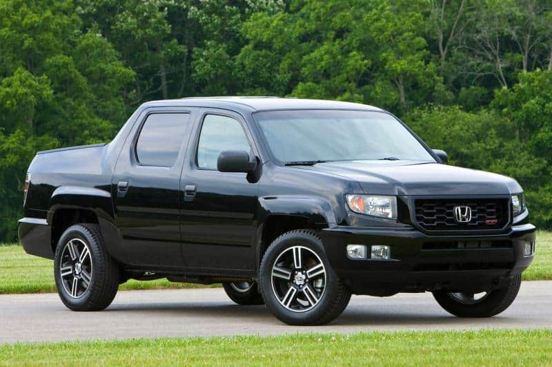 2014 Honda Ridgeline - right front view