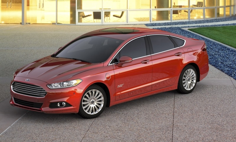 2016 Ford Fusion - drivers side view