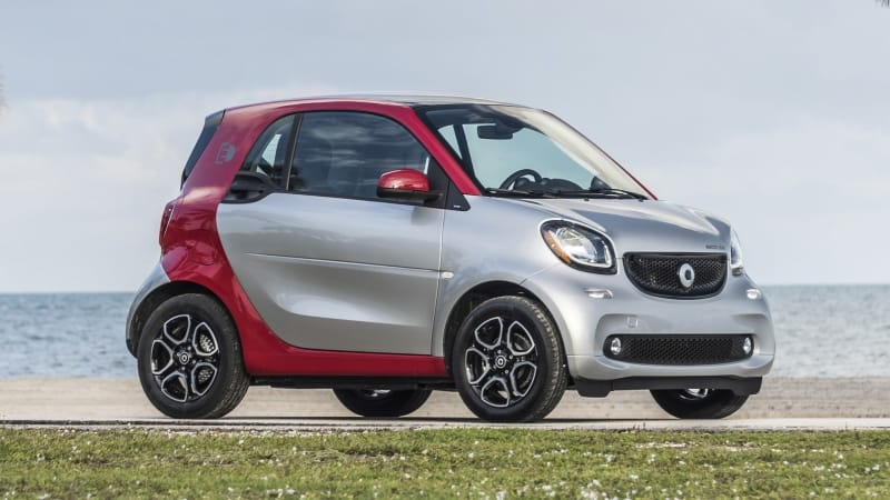 2017 Smart ForTwo - right side view