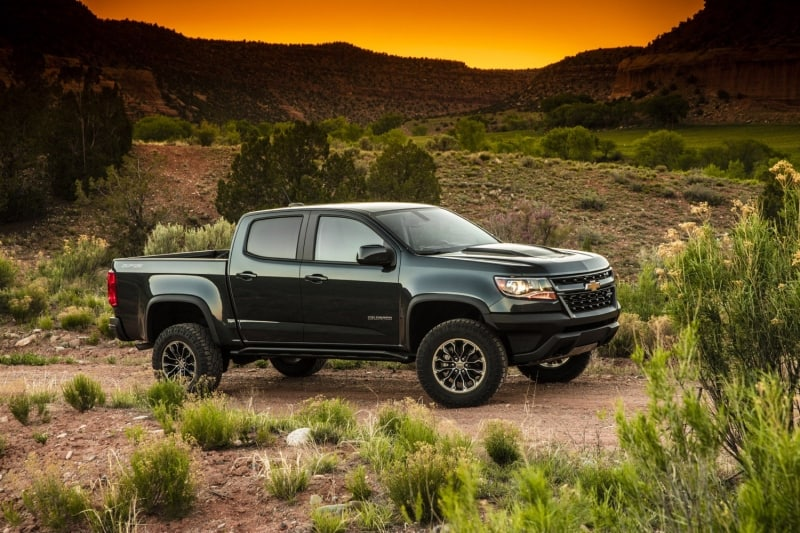 2018 Chevrolet Colorado - right side view