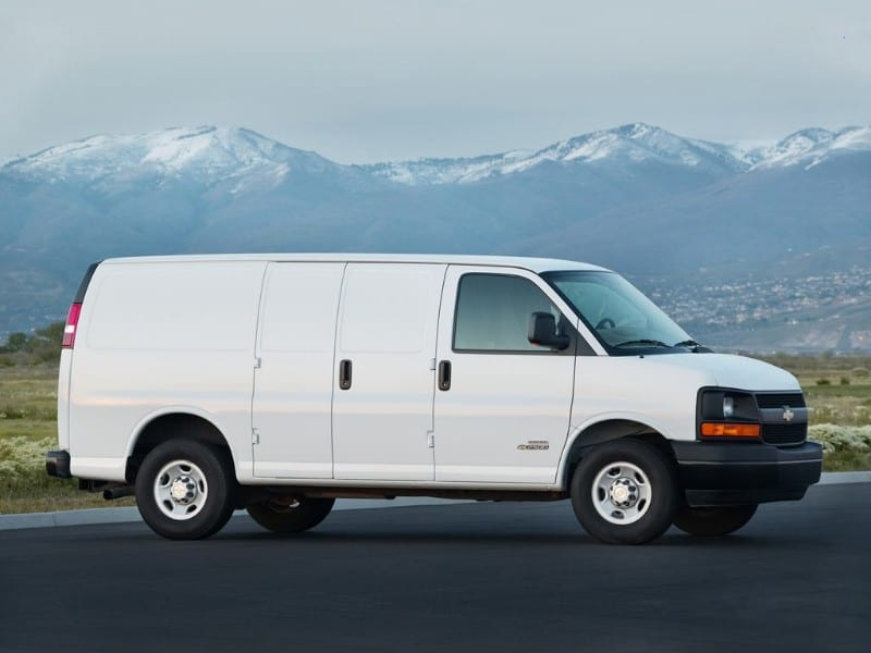 2018 Chevrolet Express - right side view