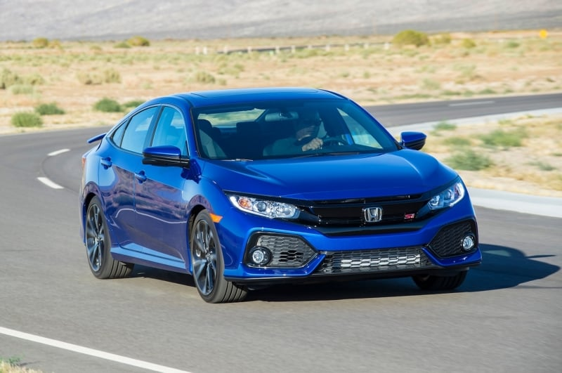2018 Honda Civic - right front view