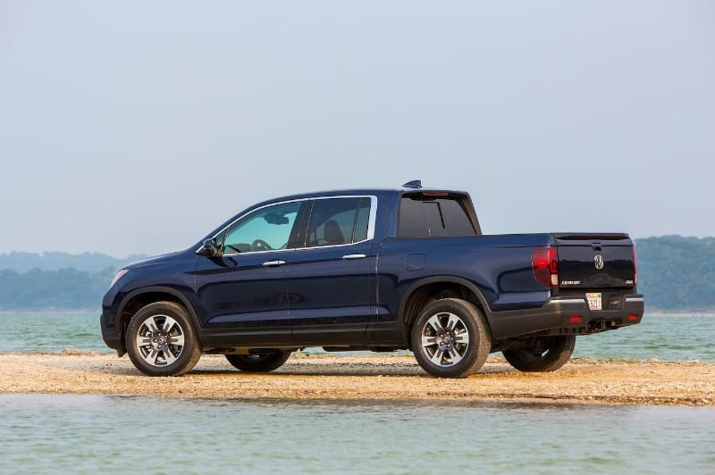 2018 Honda Ridgeline - left side view