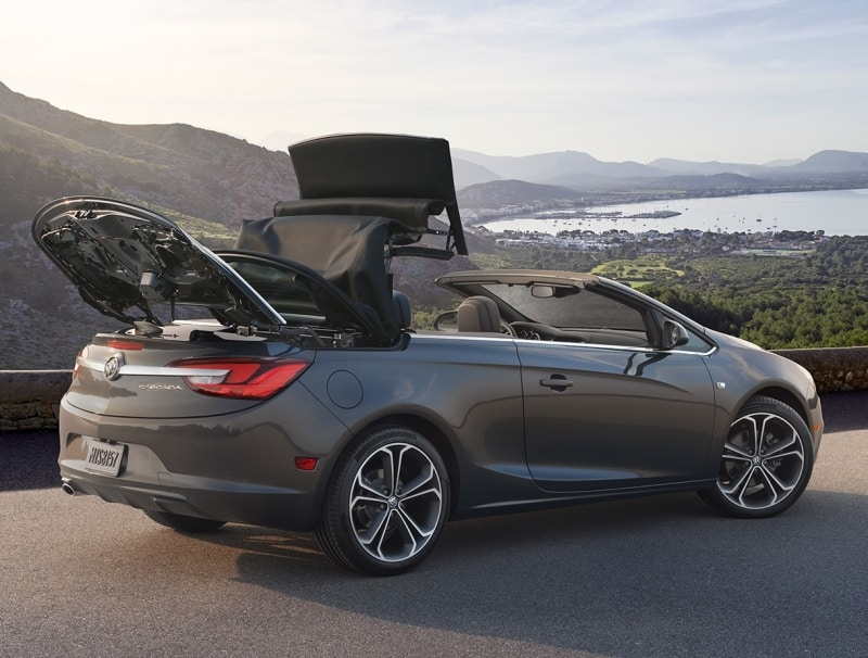 2019 Buick Cascada - right side view