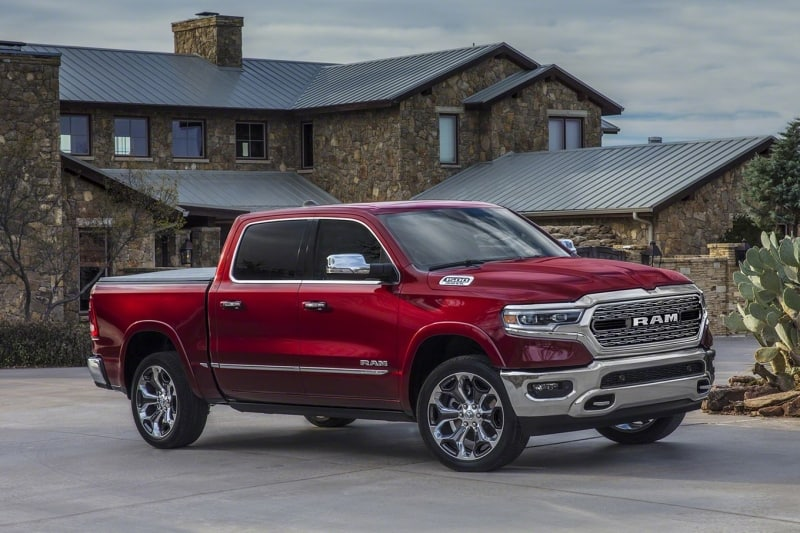 2019 Ram 1500 - right side view