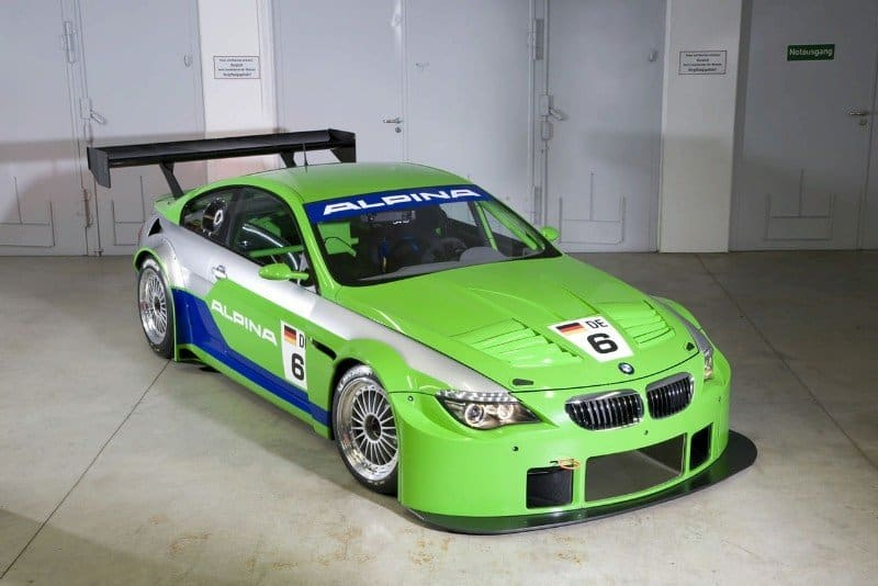 Alpina B6 GT3 - right side view