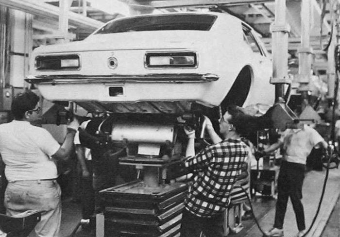 Chevrolet Camaro Raised Up