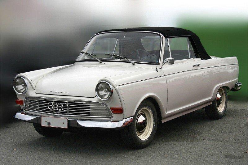 DKW car - left front view