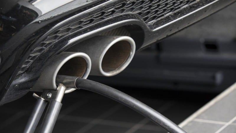 hybrid car emissions tests