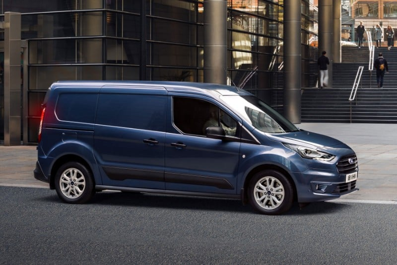 Ford Transit Connect - right side view