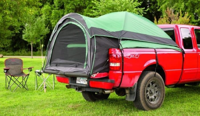 Guide Gear Compact Full Size Truck Tent