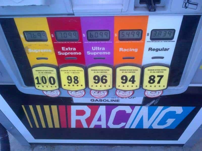 High Octane Gas Pump
