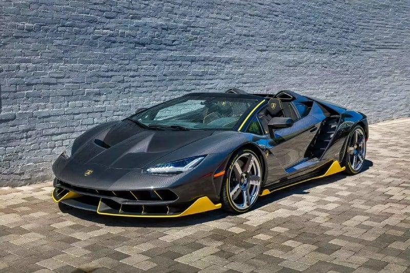 Lamborghini Centenario - left front view
