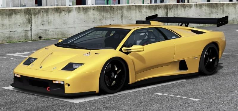 Lamborghini Diablo GTR - drivers side view