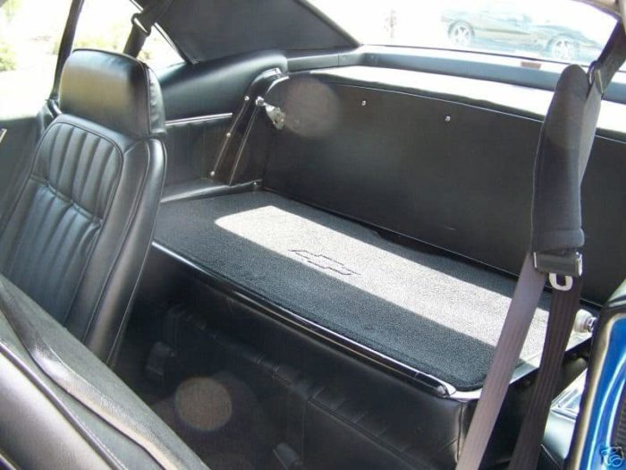 Original Chevrolet Fold Down Seats