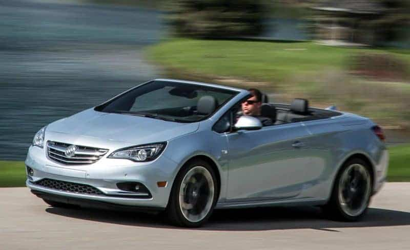 Buick Cascada front 3/4 view