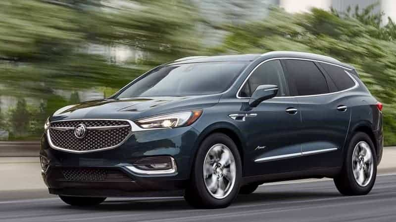 2020 Buick Model Lineup