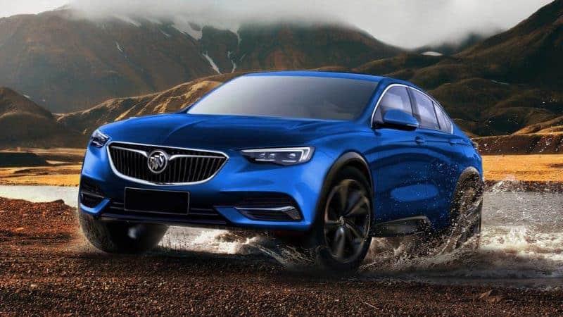 Buick Enspire rendering