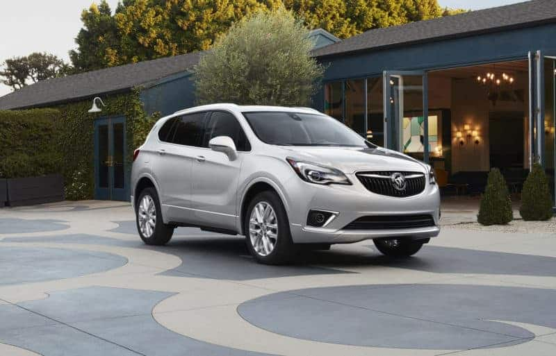 Buick Envision front 3/4 view