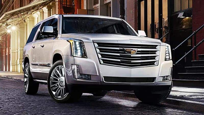 Cadillac Escalade front 3/4 view