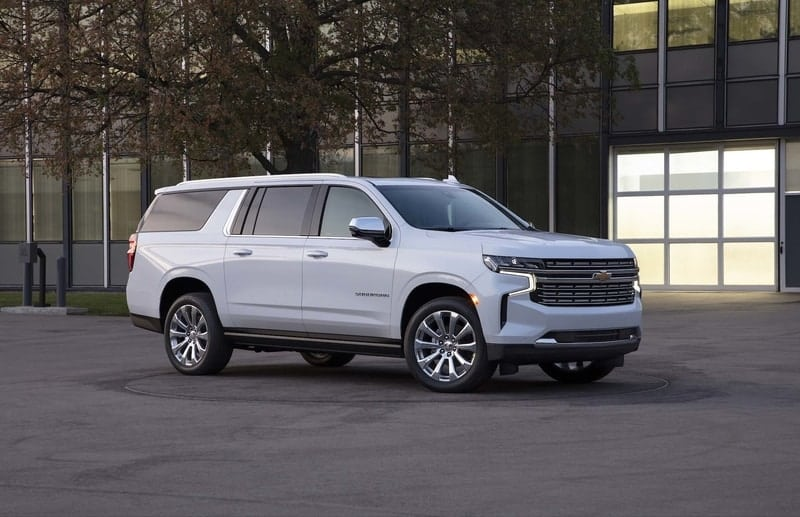 All-new Chevy Suburban