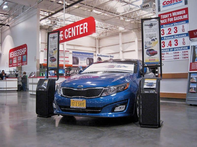 costco new car buying