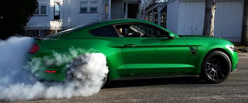 supercharged mustang