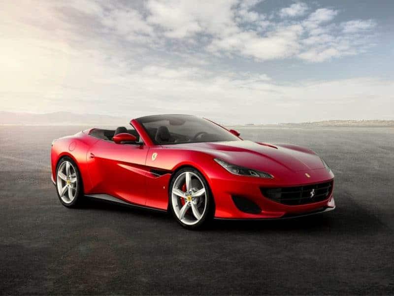 Ferrari Portofino front 3/4 view