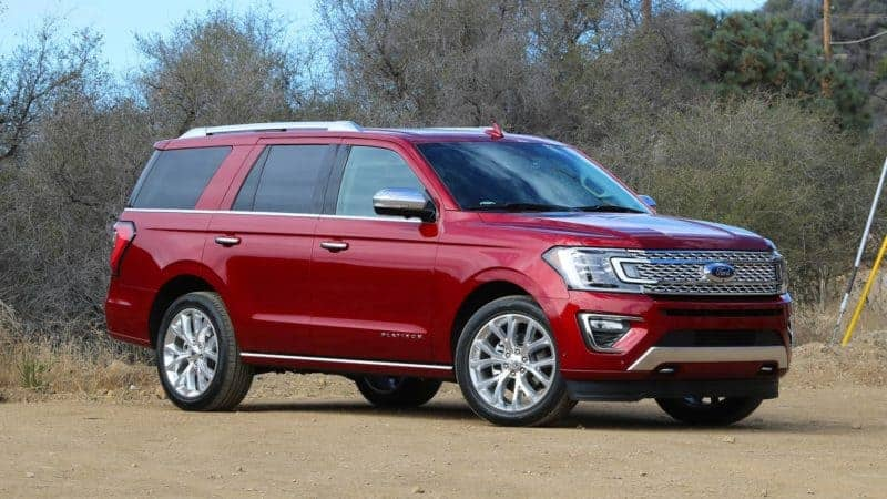 Ford Expedition profile view