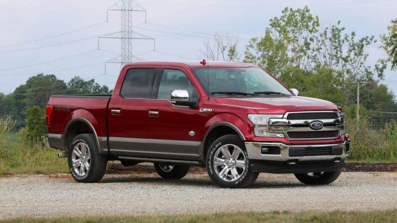 Ford F-150 front 3/4 view
