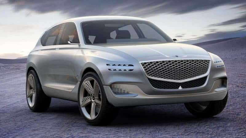 Genesis GV80 concept front 3/4 view