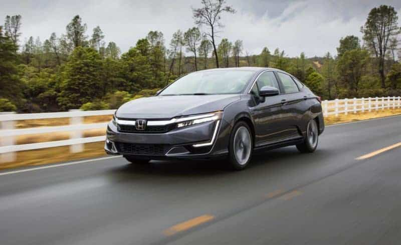Honda Clarity front 3/4 view