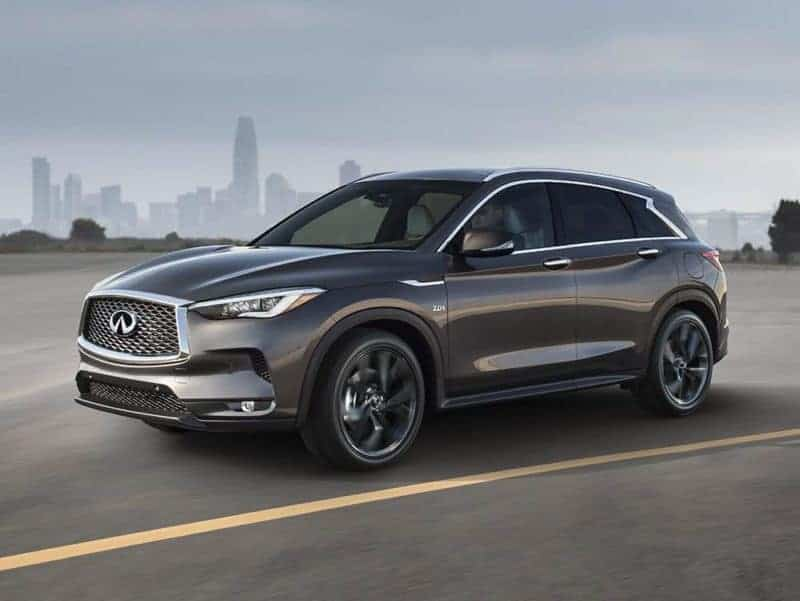 QX50 is one of the most prolific 2020 Infiniti models