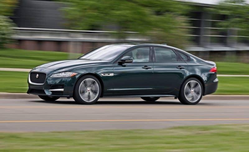 Jaguar XF profile view