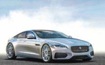2020 Jaguar XJ rendering