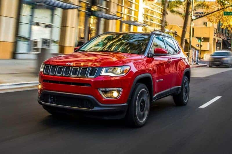 Jeep Compass front 3/4 view