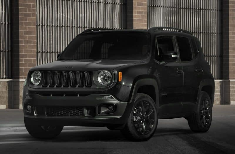 Jeep Renegade front 3/4 view