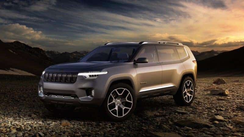 Jeep Yuntu concept previews the Wagoneer and Grand Wagoneer