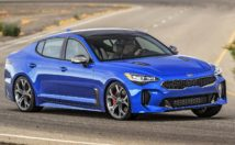 Kia Stinger front 3/4 view