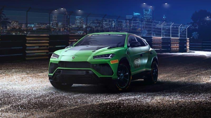 Lamborghini Urus ST-X front 3/4 view