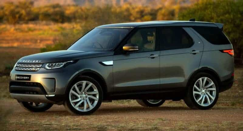 Land Rover Discovery front 3/4 view